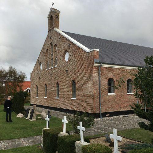 Gussfenster bei Sønderho Kirche