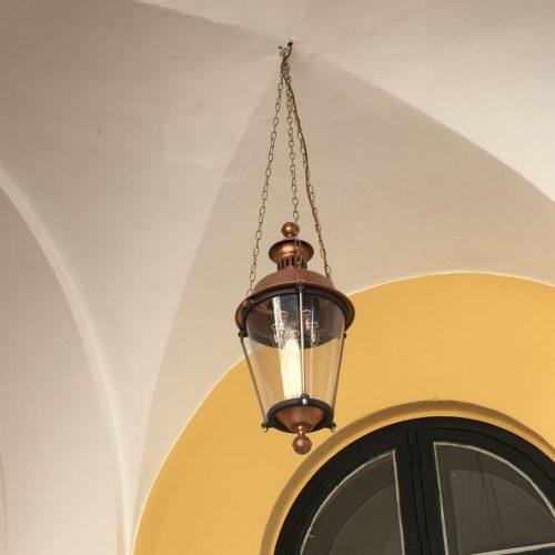 Københavnerlampe støbejern Toldboden