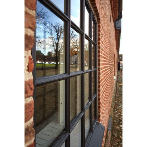 Gußeisenfenster bie Hindsgavl