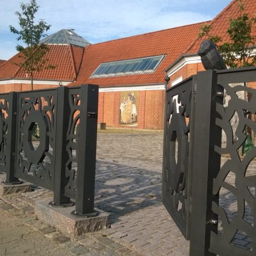 Støbejern, Vejen kunstmuseum