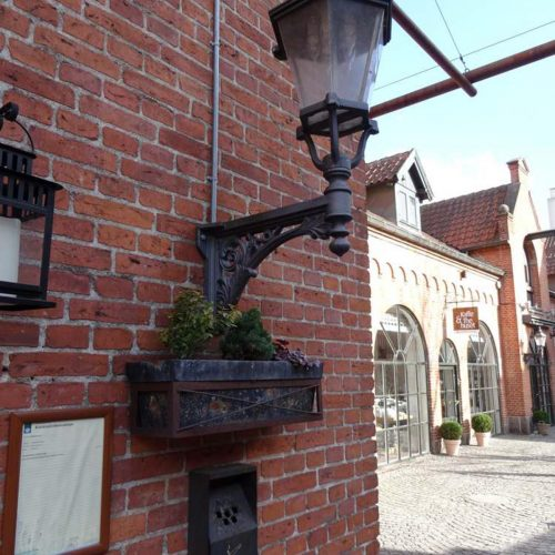 Ribelampe in Odense in Vintapperstræde