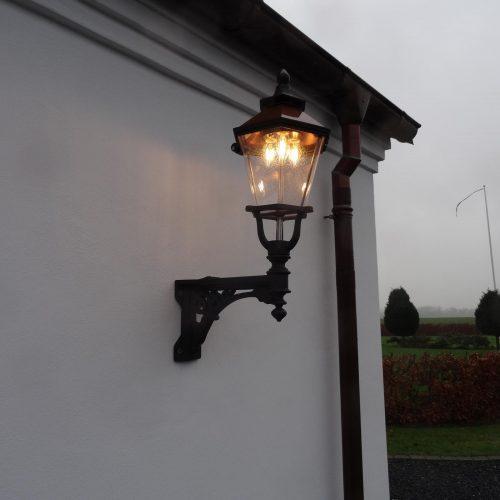 Ribelampe, Gußeisen