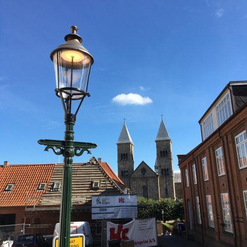 Viborglampe mit Louis Poulsen Lichteinheit