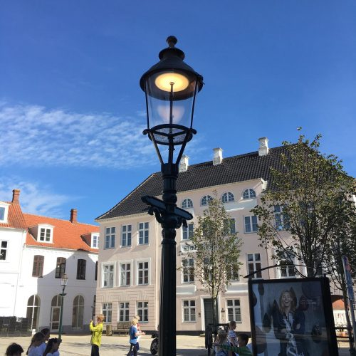Viborglampe, Gußeisen
