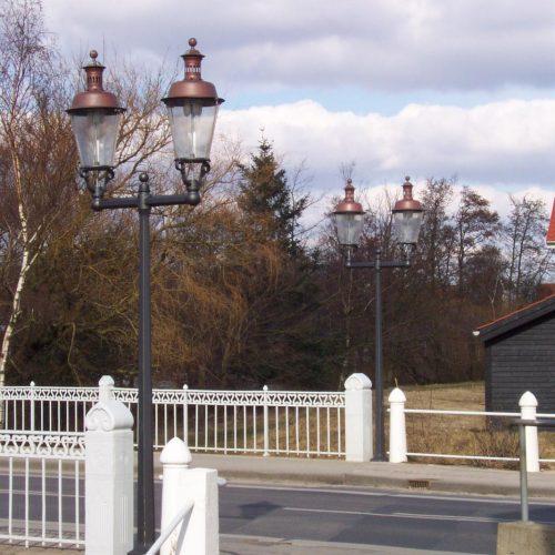 Kopenhagenlampe Gusseisen