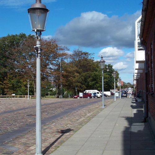 Københavnerlampe i Esbjerg