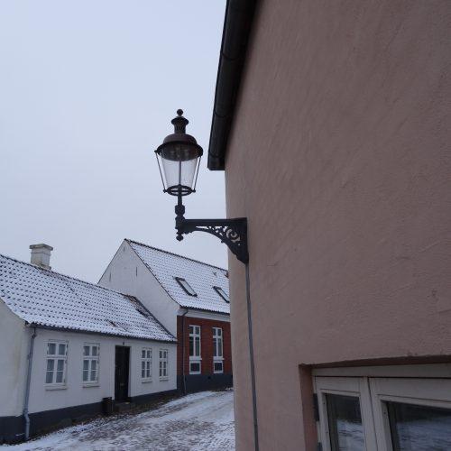 Københavner lampe i Varde