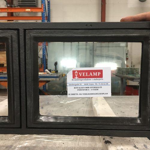 Velamp renoverer støbejernsvinduer til Lundeborg Pakhus.
