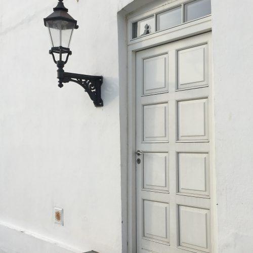 Ribelampe af støbejern
