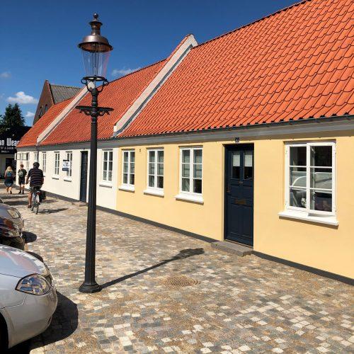 Københavnerlampe, Velamp, støbejernslampe